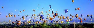 Wide screen balloons