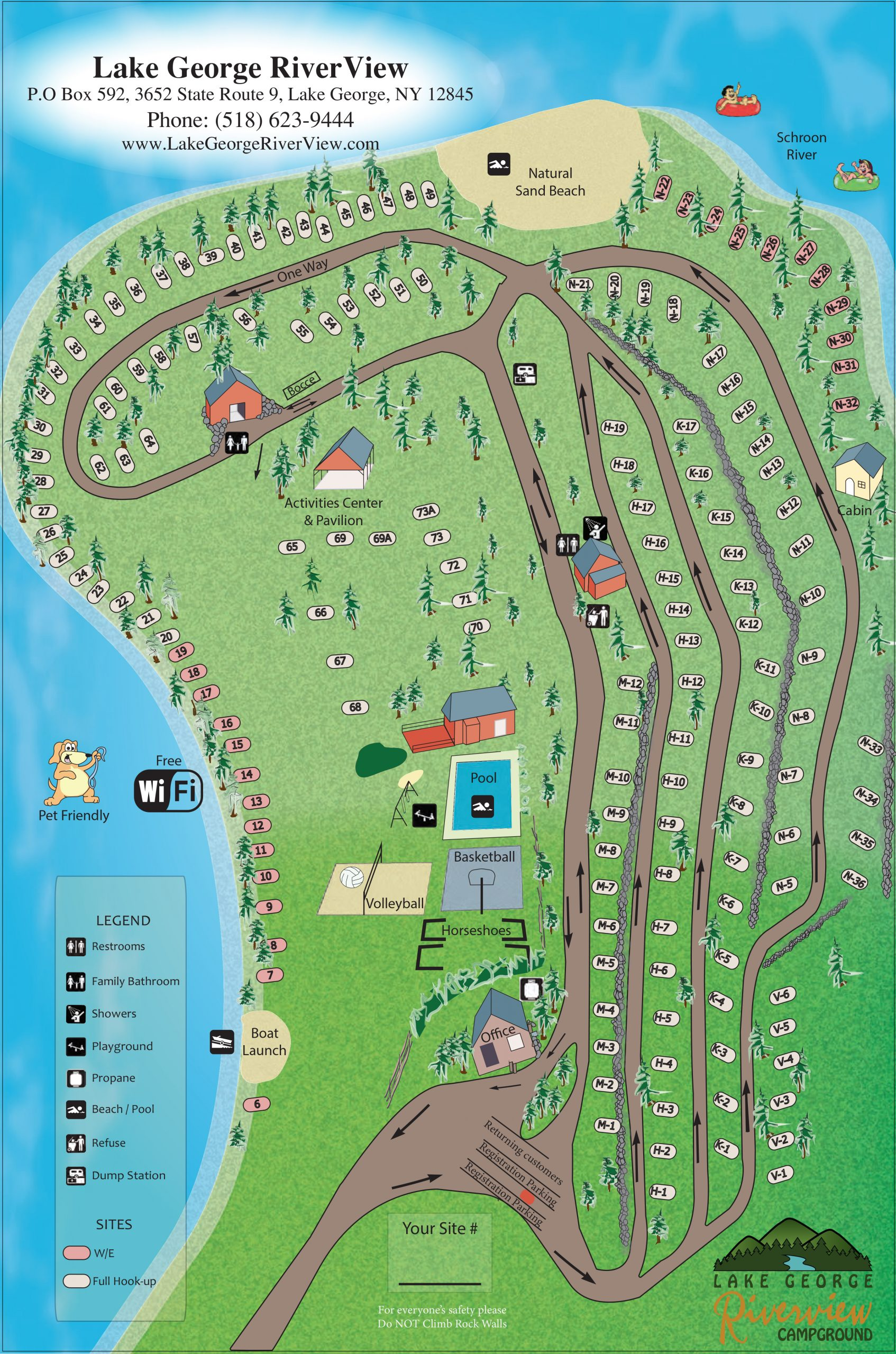 RV site map Phase II